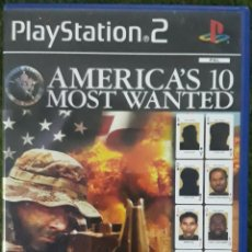 Videojuegos y Consolas: PS2 AMERICAN'S 10 MOST WANTED. Lote 195325662