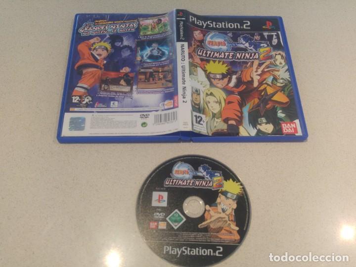 NARUTO ULTIMATE NINJA 2 PS2 PLAYSTATION 2 PAL-ESPAÑA (Juguetes - Videojuegos y Consolas - Sony - PS2)