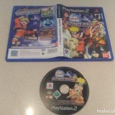 Videojuegos y Consolas: NARUTO ULTIMATE NINJA 2 PS2 PLAYSTATION 2 PAL-ESPAÑA. Lote 196261613