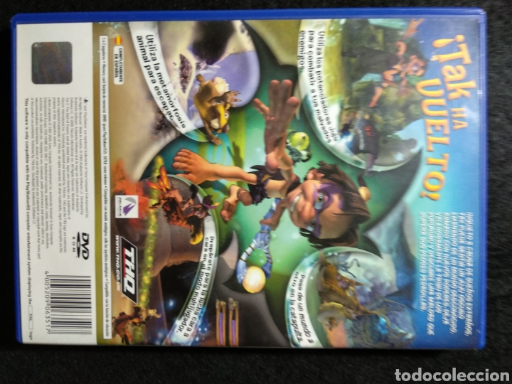 Videojuegos y Consolas: TAK 2 PlayStation 2 PAL España completo - Foto 3 - 196670082
