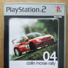 Videojuegos y Consolas: JUEGO PLAYSTATION 2 PS2 COLIN MCRAE RALLY 04 PLATINUM (CODEMASTERS, 2003). INCLUYE MANUAL. ESPAÑOL.. Lote 196921147