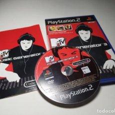 Videojuegos y Consolas: MTV MUSIC GENERATOR 3 ( PLAYSTATION 2 - PAL - ESPAÑA) PS2. Lote 197358031