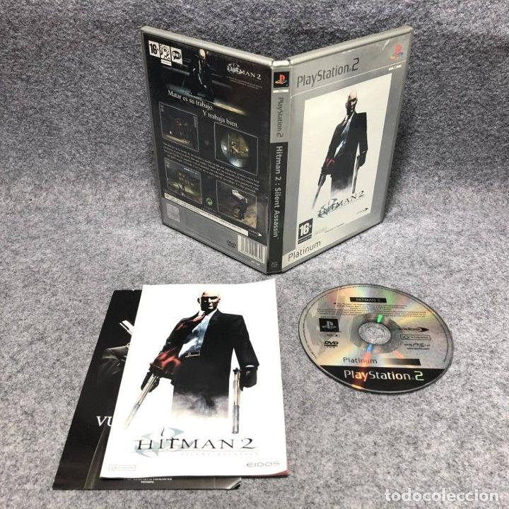 Hitman 2 Silent Assassin Sony Playstation 2 Ps2 Sold Through