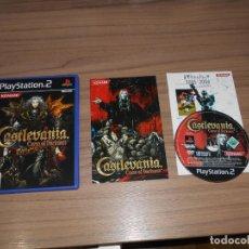 Videojuegos y Consolas: CASTLEVANIA CURSE OF DARKNESS COMPLETO PLAYSTATION 2 PAL ESPAÑA NUEVO NO ESTRENADO. Lote 197773518