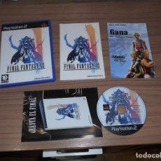 Videojuegos y Consolas: FINAL FANTASY XII COMPLETO PLAYSTATION 2 PAL ESPAÑA COMO NUEVO. Lote 197774186
