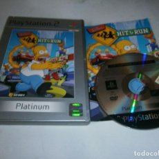 Videojogos e Consolas: THE SIMPSONS HIT & RUN PLAYSTATION 2 PAL ESPAÑA COMPLETO. Lote 197961150