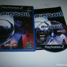 Jeux Vidéo et Consoles: PLAY IT PINBALL PLAYSTATION 2 PAL ESPAÑA COMPLETO. Lote 197963277