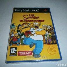 Jeux Vidéo et Consoles: LOS SIMPSON EL VIDEOJUEGO PLAYSTATION 2 PAL ESPAÑA NUEVO Y PRECINTADO. Lote 197964238