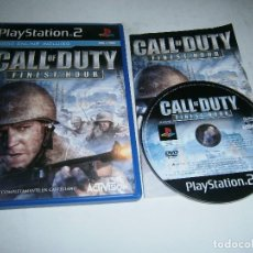 Videojogos e Consolas: CALL OF DUTY FINEST HOUE PLAYSTATION 2 PAL ESPAÑA COMPLETO . Lote 197964697