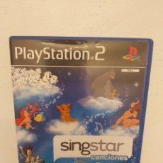 Videojuegos y Consolas: SINGSTAR CANCIONES DISNEY PLAY STATION 2. Lote 198886792