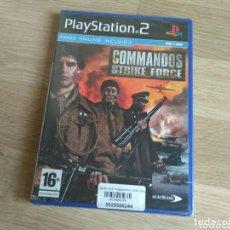 Videojuegos y Consolas: SONY PLAYSTATION 2 PS2 JUEGO COMMADOS STRIKE FORCE NUEVO. Lote 198956013