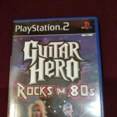 Jeux Vidéo et Consoles: GUITAR HERO ROCKS THE 80'S, PS2.. Lote 199097121