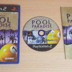 Videojuegos y Consolas: JUEGO PLAYSTATION 2 POOL PARADISE-COMPLETO INSTRUCCIONES-PAL-PS2. Lote 253340995
