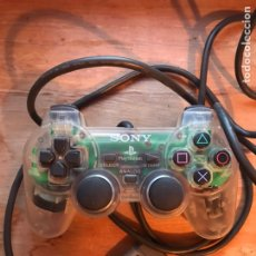 Videojuegos y Consolas: MANDO DUAL SOCK PLAY STATION SONY TRANSPARENTE -. Lote 199244588