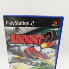 Videojuegos y Consolas: BURNOUT 2 POINT OF IMPACT PS2. Lote 199368997