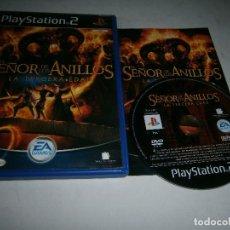 Jeux Vidéo et Consoles: EL SEÑOR DE LOS ANILLOS LA TERCERA EDAD PLAYSTATION 2 PAL ESPAÑA COMPLETO. Lote 213990765