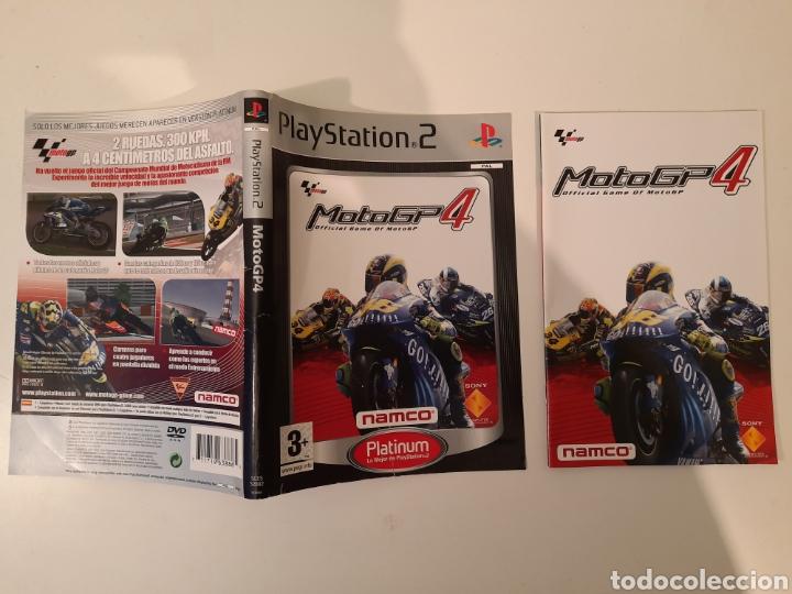 CARÁTULA Y MANUAL MOTOGP MOTO GP PS2 (Juguetes - Videojuegos y Consolas - Sony - PS2)