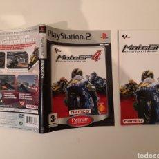 Videojuegos y Consolas: CARÁTULA Y MANUAL MOTOGP MOTO GP PS2. Lote 199516557