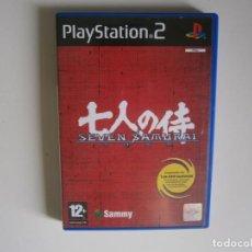 Videojuegos y Consolas: SEVEN SAMURAI 20XX PS2. Lote 199794655