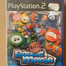 Videojuegos y Consolas: PS2 BUZZ JUNIOR ROBOT MANÍA. Lote 199824066