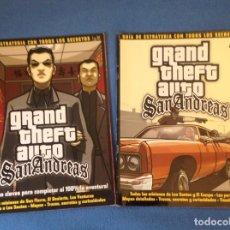Videojuegos y Consolas: GRAND THEFT AUTO SAN ANDREAS GUIA DE ESTRATEGIA UNO Y DOS. Lote 200044782