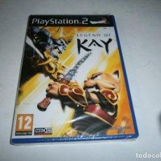 Videojuegos y Consolas: LEGEND OF KAY PLAYSTATION 2 PAL ESPAÑA NUEVO Y PRECINTADO. Lote 245891535