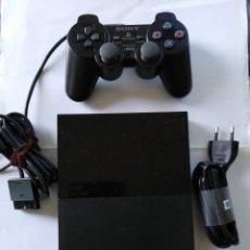 Videojuegos y Consolas: PLAY STATION 2 CON SUS CABLES Y DOS MICROFONOS. Lote 201185237