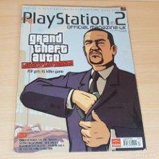 Jeux Vidéo et Consoles: REVISTA OFFICIAL MAGAZINE UK PLAYSTATION 2-GTA GRAND THEFT AUTO-AÑO 2005-PS2. Lote 201256612