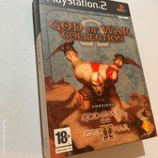 Videojuegos y Consolas: JUEGO PLAYSTATION 2 GOD OF WAR COLLECTION I Y II PS2. Lote 202673415