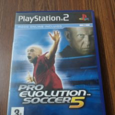 Videojuegos y Consolas: EST9 C19. JUEGO DE LA PLAYSTATION 2. PRO EVOLUTION SOCCER 5. Lote 203366566