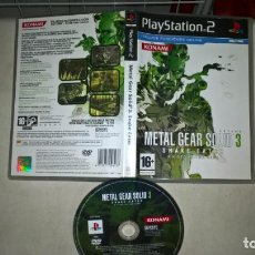 Videojuegos y Consolas: VIDEOJUEGO PS2 METAL GEAR SOLID 3 SNAKE EATER. Lote 203589213