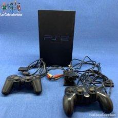 Videojuegos y Consolas: CONSOLA PLAYSTATION 2 + 1 MANDO ORIGINAL + CÁMARA EYE TOY - PS2. Lote 203767495
