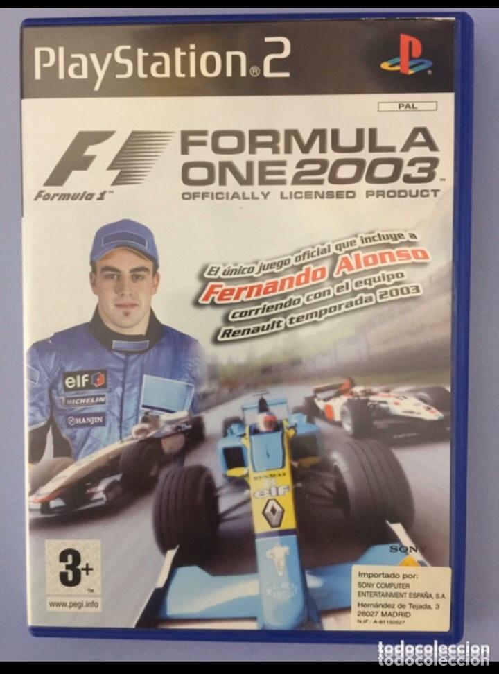 FÓRMULA ONE 2003, JUEGO PLAYSTATION 2 (Juguetes - Videojuegos y Consolas - Sony - PS2)
