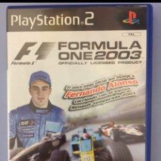 Videojuegos y Consolas: FÓRMULA ONE 2003, JUEGO PLAYSTATION 2. Lote 203894426