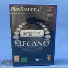 Videojuegos y Consolas: VIDEOJUEGOS - SINGSTAR - MECANO - PLAYSTATION 2 - PS2. Lote 203970756