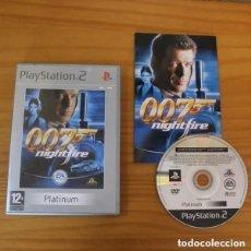 Videojuegos y Consolas: JAMES BOND 007 NIGHTFIRE - VIDEOJUEGO PLAYSTATION 2 - SONY PLAY PS2 PAL UK EA GAMES. Lote 204071727