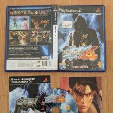 Videojuegos y Consolas: VIDEOJUEGO PLAY 2 TEKKEN 4 ORIGINAL PAL CASTELLANO. Lote 204085890
