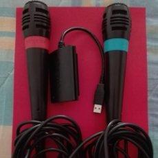Videojogos e Consolas: MICROFONOS SINGSTAR. Lote 204521031