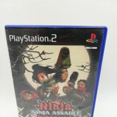 Jeux Vidéo et Consoles: NINJA ASSAULT PS2. Lote 204575061