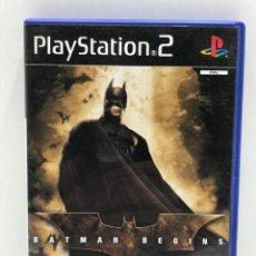 Videojuegos y Consolas: BATMAN BEGINS - PLAYSTATION 2 - EA GAMES. Lote 205018751