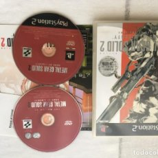 Jeux Vidéo et Consoles: METAL GEAR SOLID 2 SONS OF LIBERTY PS2 PLAYSTATION 2 PLAY STATION TWO KREATEN. Lote 205088386