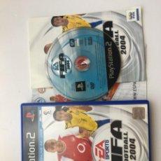 Videojuegos y Consolas: FIFA FOOTBALL 2004 PS2 PLAYSTATION 2 PLAY STATION TWO KREATEN. Lote 205511411