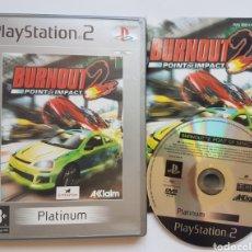 Videojuegos y Consolas: BURNOUT 2 PS2 PLAYSTATION 2. Lote 205536666