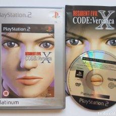 Videojuegos y Consolas: RESIDENT EVIL CODE VERONICA X PS2 PLAYSTATION 2. Lote 205548937