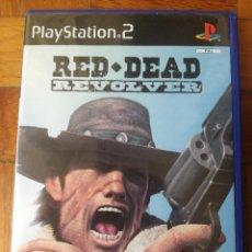 Videojuegos y Consolas: JUEGO SONY PLAYSTATION 2 - PAL / ESP - RED DEAD REVOLVER - COMPLETO - PS2. Lote 205550691
