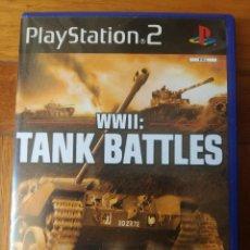 Videojuegos y Consolas: JUEGO WWII: TANK BATTLES PLAYSTATION 2 COMPLETO. Lote 205551205