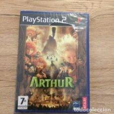 Videojuegos y Consolas: ARTHUR Y LOS MINIMOYS THE INVISIBLES PS2 NUEVO PRECINTADO PAL. Lote 205677848