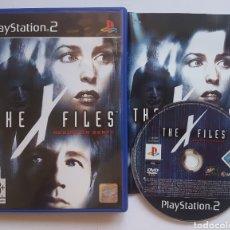 Videojuegos y Consolas: THE X FILES PS2 PLAYSTATION 2. Lote 205683552