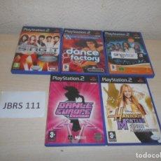 Videojuegos y Consolas: PS2 - PACK DE 5 JUEGOS DE MUSICA Y BAILE , PAL ESPAÑOLES. Lote 205702726