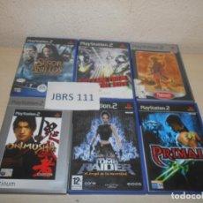 Videojuegos y Consolas: PACK DE 6 JUEGOS VARIADOS , PAL ESPAÑOLES. Lote 205703271